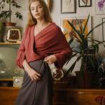 Cami wrap skirt