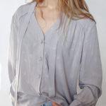 Jemma blouse light gray